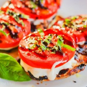 Balsamic Grilled Caprese Chicken