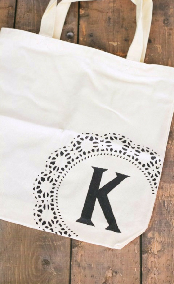 Now you're ready to hit the farmers market in style! Or how about using a personalized tote as a trick-or-treat bag on Halloween night? There are so many possibilities!