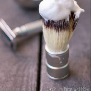 DIY Shaving Soap Recipe (& How To Use Shave Soap)