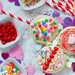 Homemade Sugar Cookie Lollipop Decorating Party