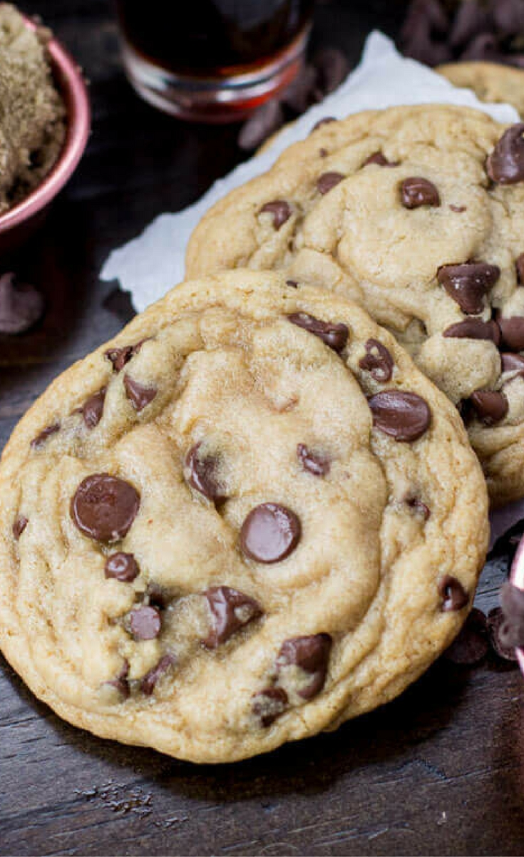 Are they the worst or are they the best cookies in existence? Either way, this easy, soft chocolate chip cookie recipe is insanely addictive. They're great as fresh, hot-out-of-the-oven gooey cookies, and stay soft for days.