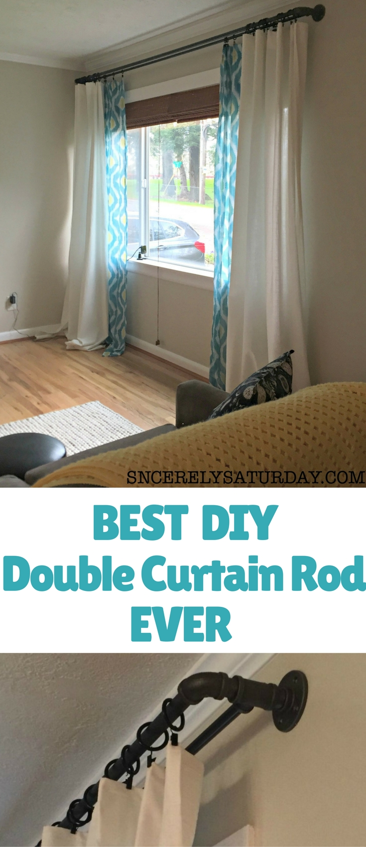 The overall durability of these curtain rods are amazing! I have little to no wear on the rods themselves and NO sagging whatsoever.