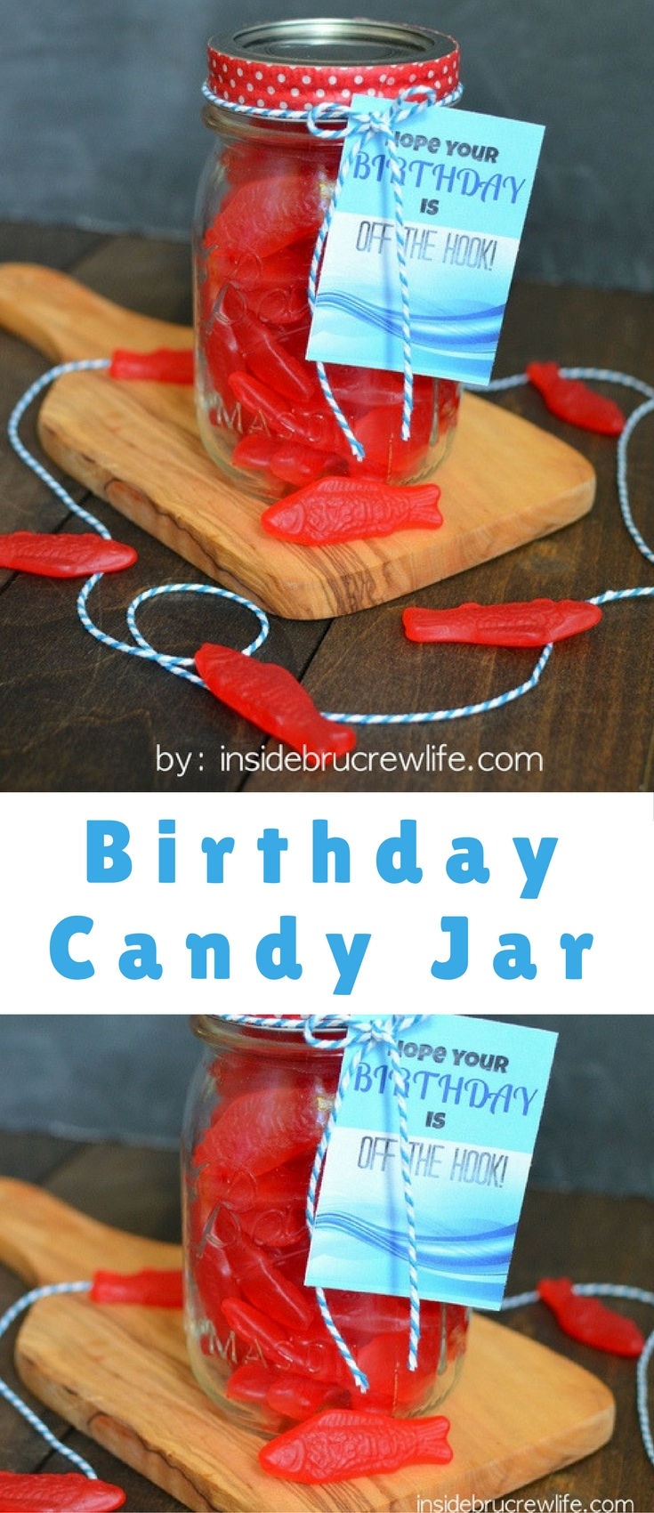 One way to show your love for a friend is to remember the little details such as what their favorite candy is. Remembering the small things about someone shows you noticed and you care. What better way to say Happy Birthday to someone than with one of their little favorites.