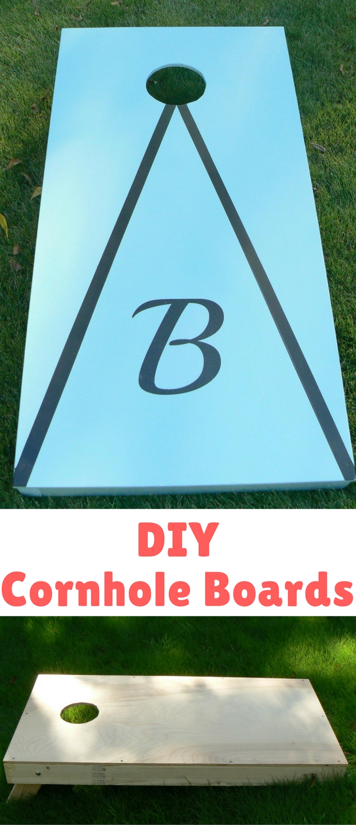 Turns out, building cornhole boards is a pretty easy and economical project. Buddy did the woodwork and I did most of the finishing.