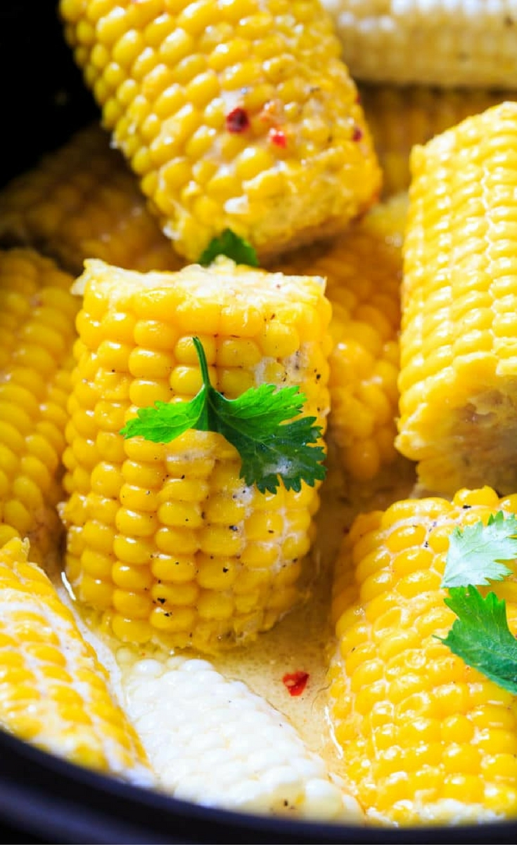 There are many ways I like to cook corn on the cob and this Crock Pot Corn on the Cob is definitely at the top of the list.
