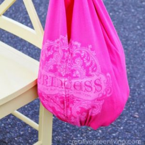 How to Make a Bag from a T-Shirt (No Sewing Required!)