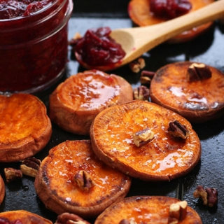 Addictive Roasted Sweet Potato Rounds