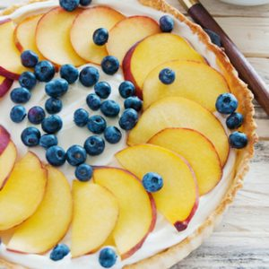 Blueberry and Peach Tarts