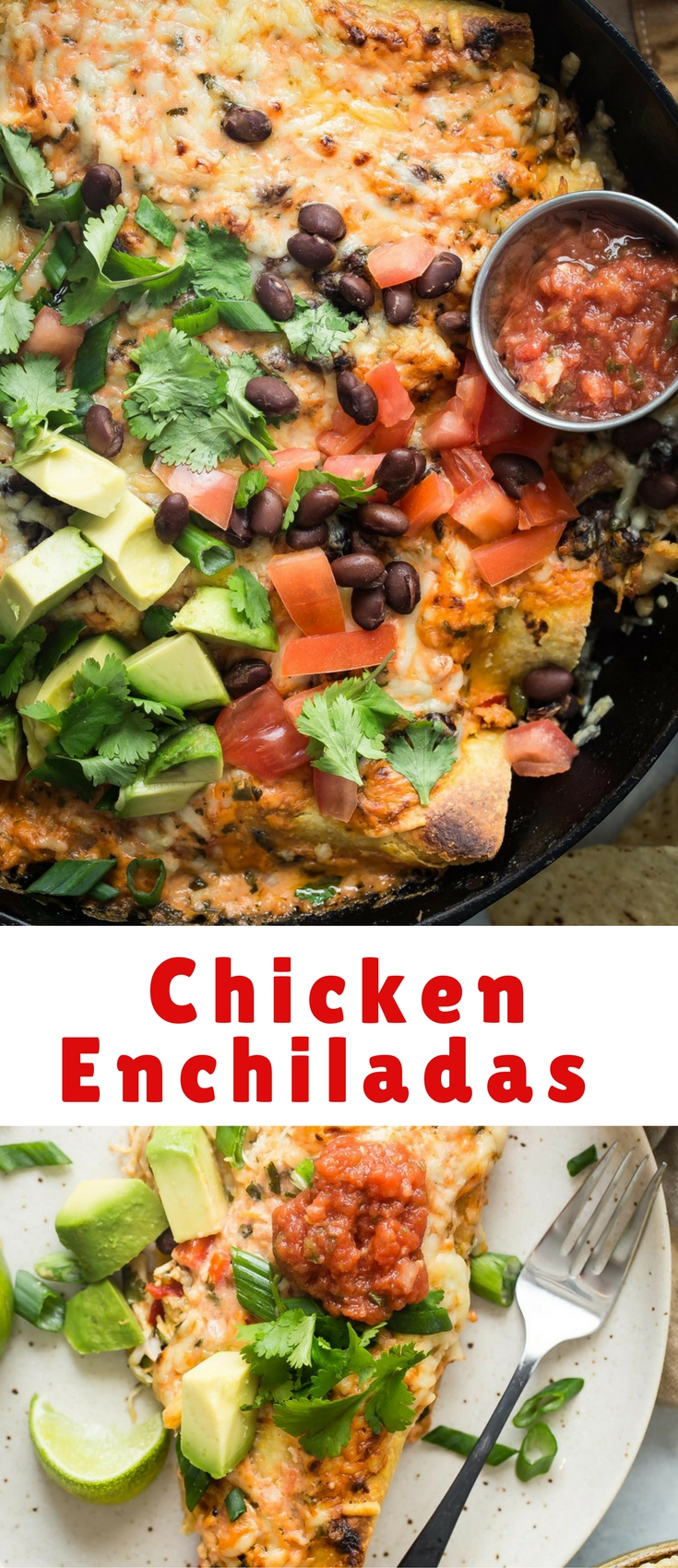 Chicken Enchiladas must be one of the easiest dinners to prepare, and still be high up on the delectable comfort food list.