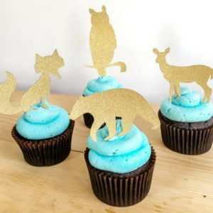 Cupcake Toppers for Baby Shower