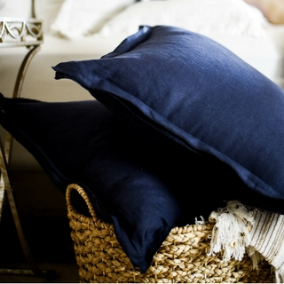 How to Make Linen Pillow Covers