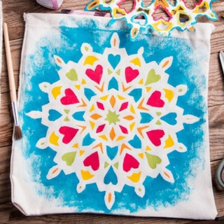 Easy Mandala Painting for Kids