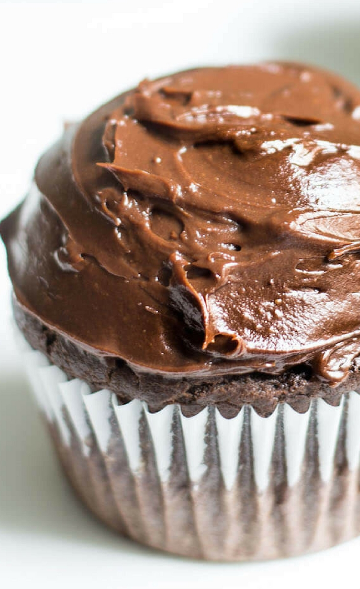 These espresso chocolate cupcakes are rich and decadent in every way you could imagine. While the taste of espresso is apparent, the espresso's importance in this recipe is more for the sake of enhancing the chocolate flavor in these cupcakes.