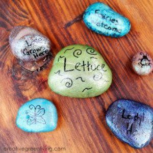 How to Make Fairy Rocks for Your Garden