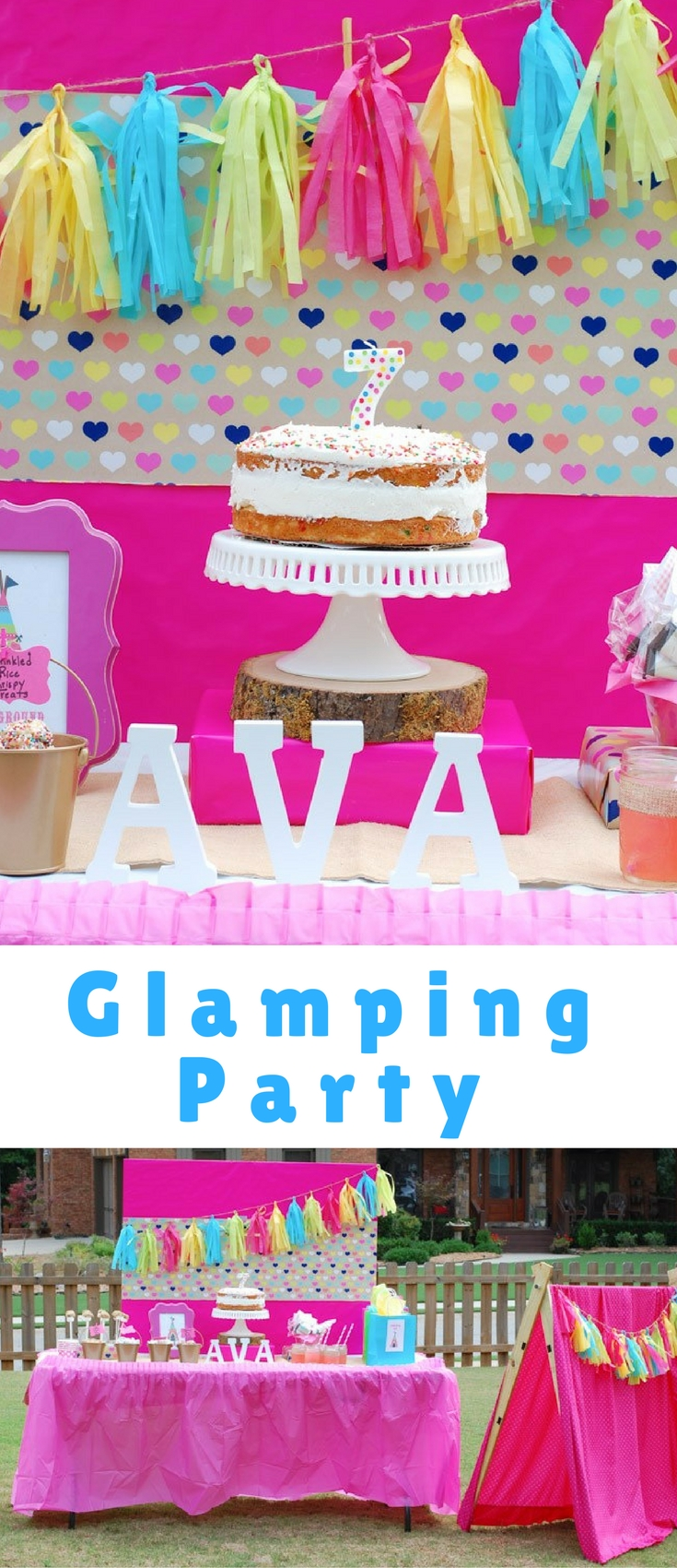 Summer is a perfect season for a birthday party with nature as your backdrop. This Glamping Party has everything you need to impress your guests.