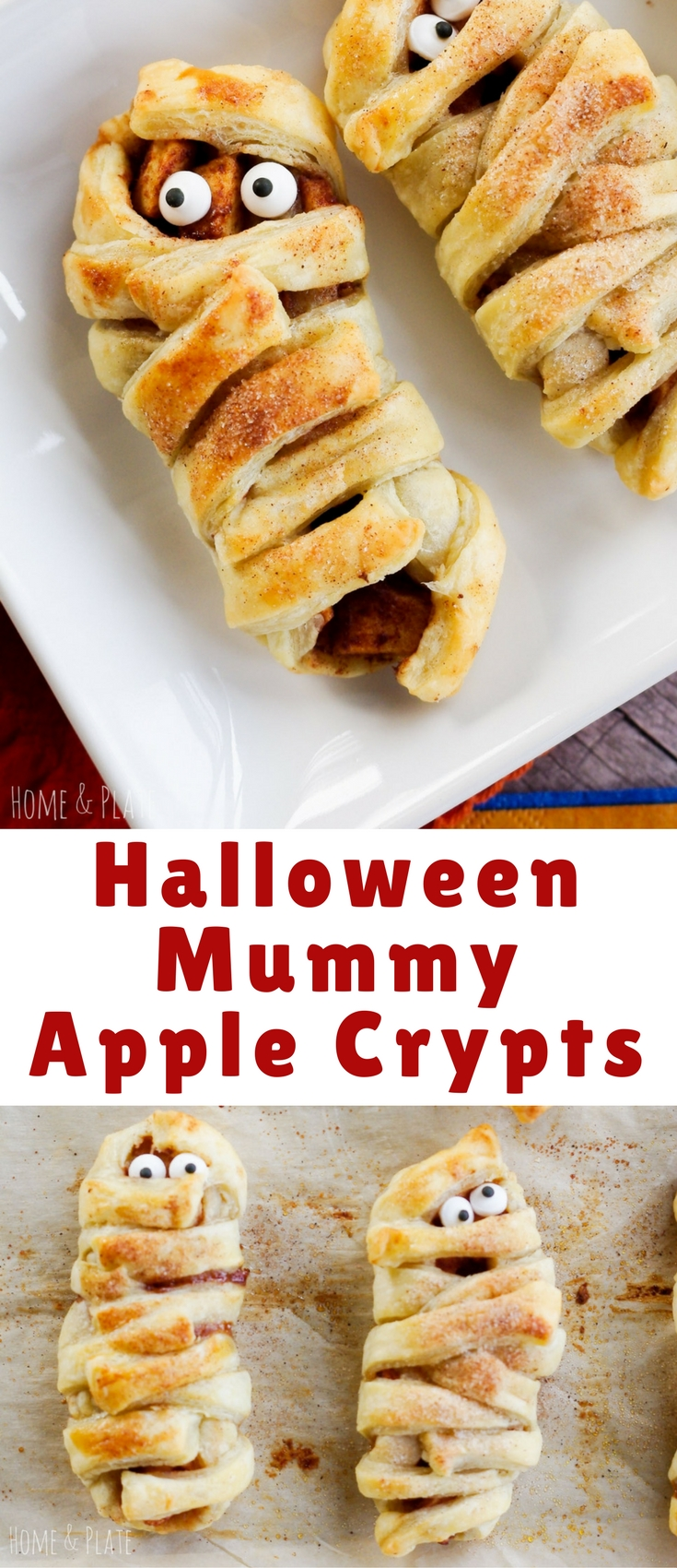 Have a little fun in the kitchen this Halloween and make these deliciously yummy Mummy Apple Crypts.