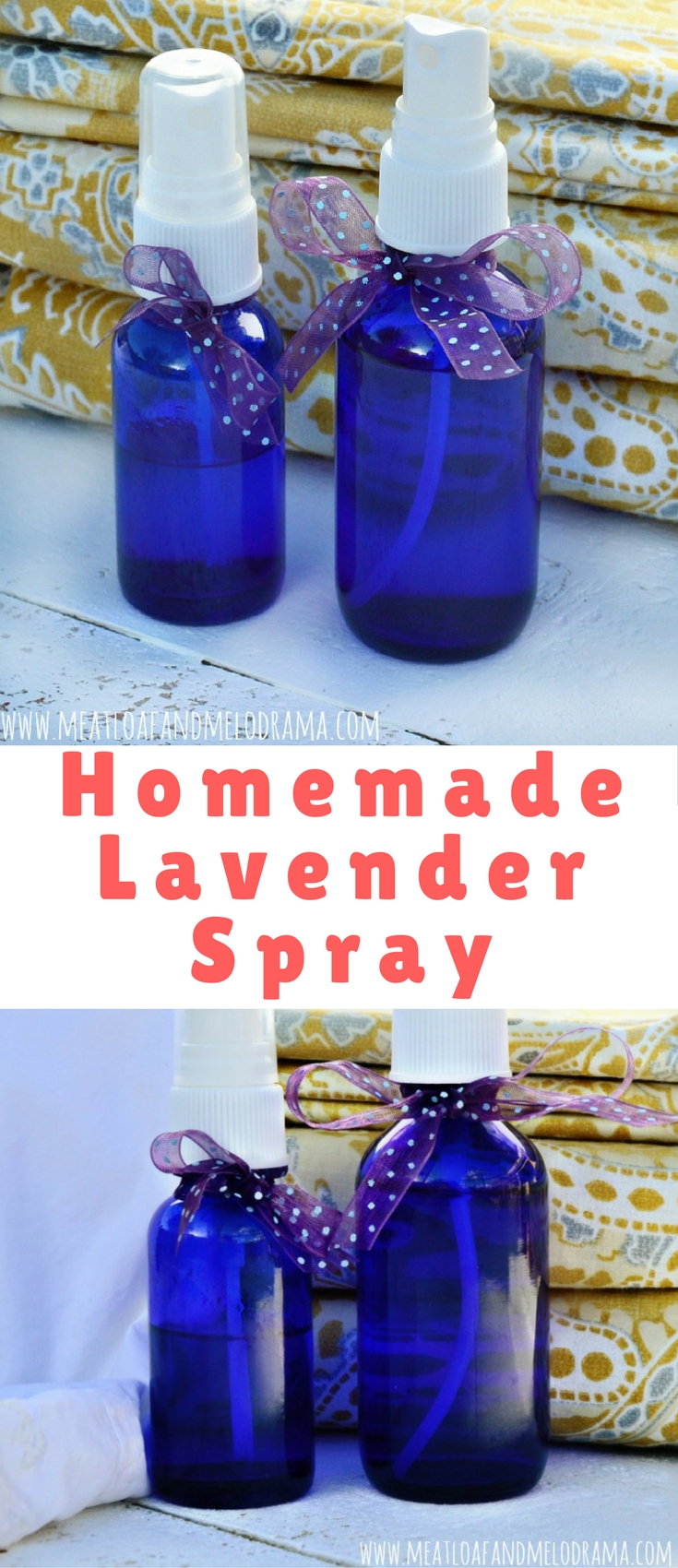 I've come to love this homemade lavender spray so much, that I use it for clothes, towels and just about everything else.