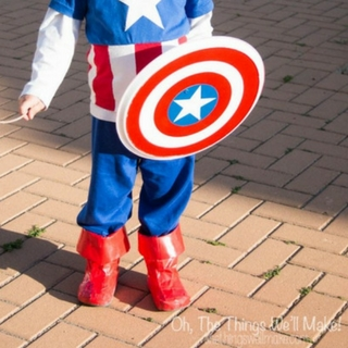 How to Make a Captain America Shield