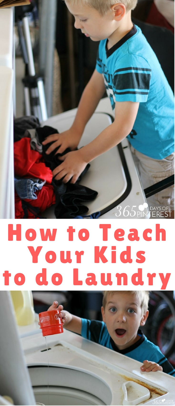 Do your kids do their own laundry? If they can work a smart phone, they can handle simple household chores. Today, I'm sharing how to teach your kids to do laundry for two reasons: your sanity, and the fact that it's a basic life skill everyone should know!