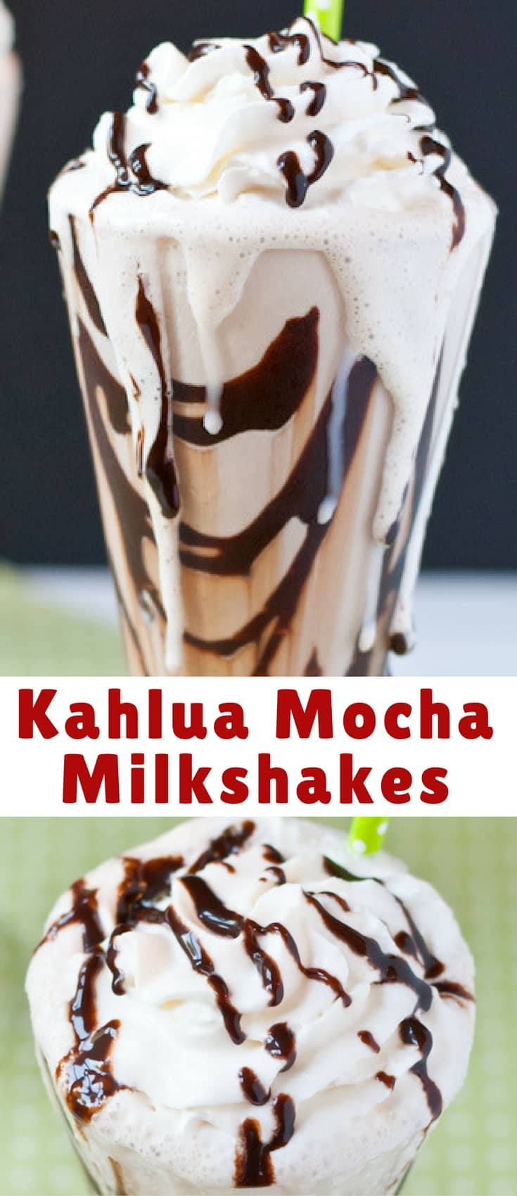 Calling all chocolate and coffee lovers! These boozy Kahlua Mocha Milkshakes are perfect for special occasions or, ya know, a random Thursday.