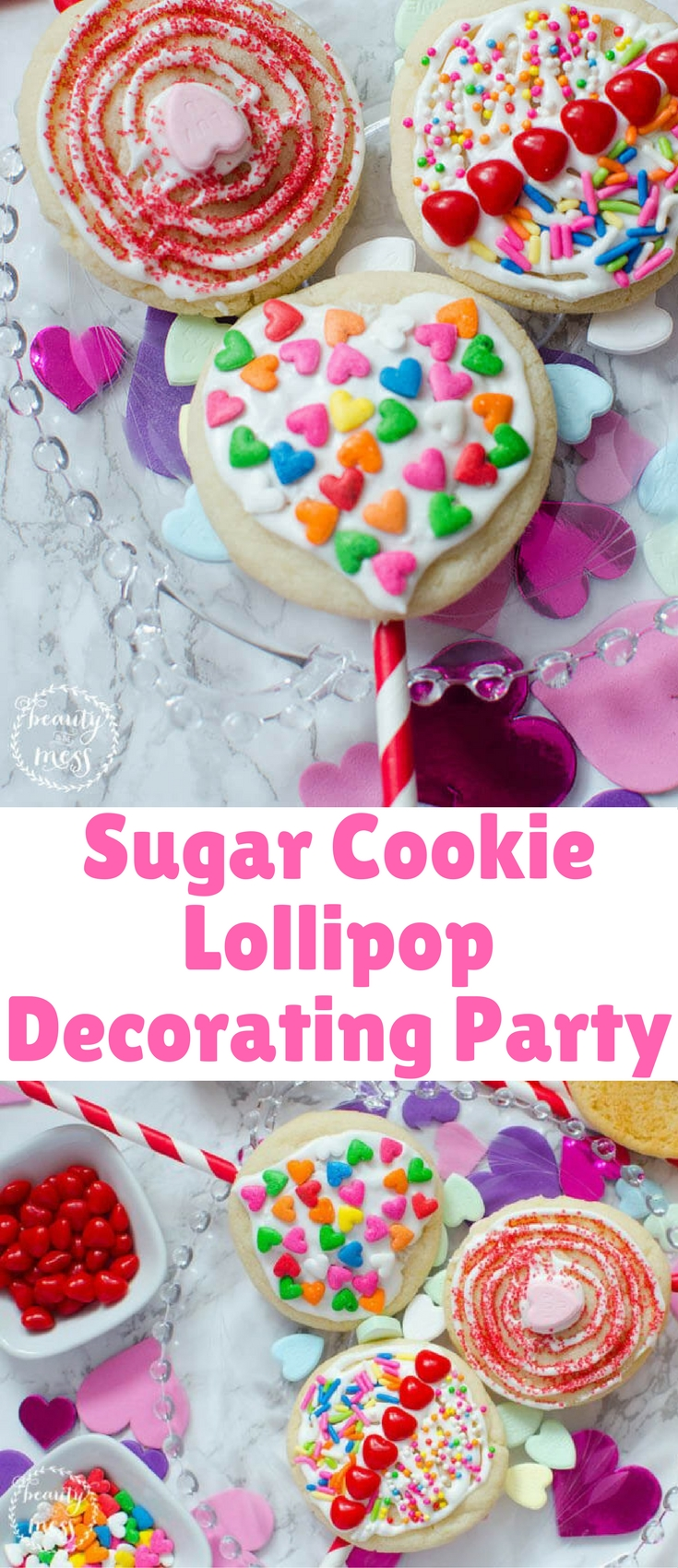 Looking for a fun spin that incorporates a love for cookies and lollipops? The sugar cookie lollipop is a great mashup of both!