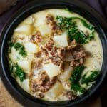 Slow Cooker Zuppa Toscana Soup