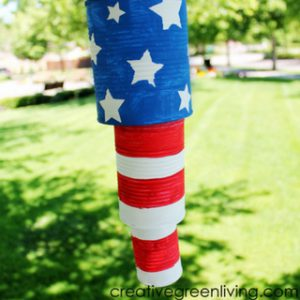 How to Make Patriotic Recycled Tin Can Wind Chimes