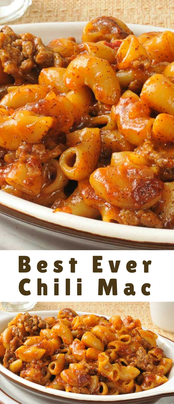 This is it. The best chili mac worldwide. Right here.