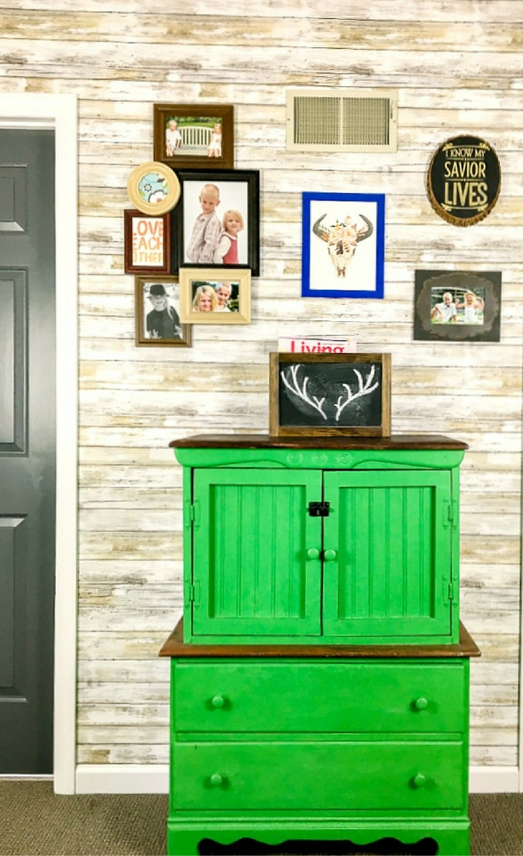 Faux Wood Slat Accent Wall Blogger Bests