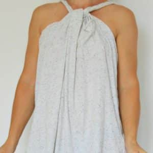 No Sew Beach Cover Up from a man's t-shirt