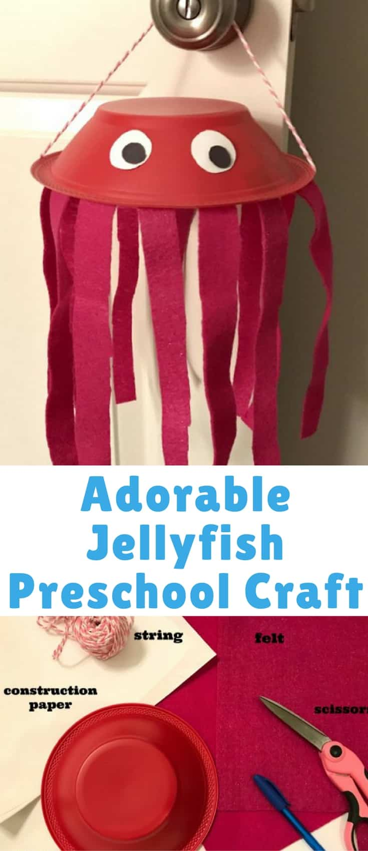 Adorable Jellyfish Preschool Craft Tutorial Jellyfish Facts Kids