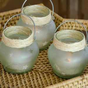 Cute Lamps Made from Marmalade Jars