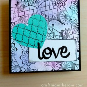 How to Emboss with the Cricut Cuttlebug