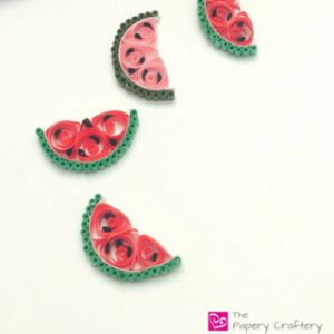 Quilling Paper Watermelon