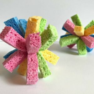 Make These Kids Sponge Balls for Water Play This Summer!
