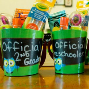 Back to School Gift Buckets