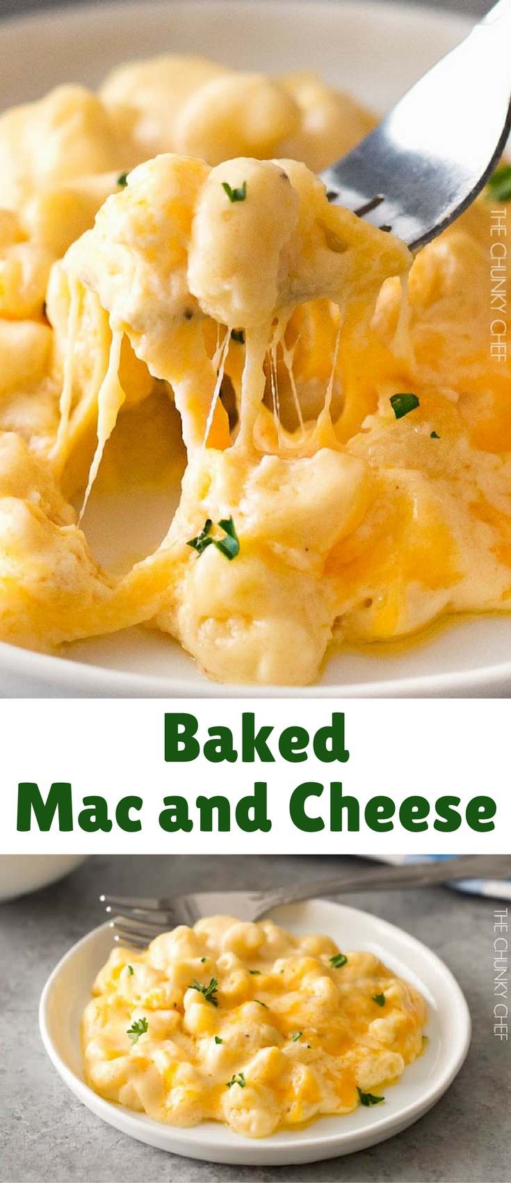 This baked mac and cheese is a family favorite recipe, loved by children and adults. My version uses a combination of cheeses for a gloriously cheesy dish!