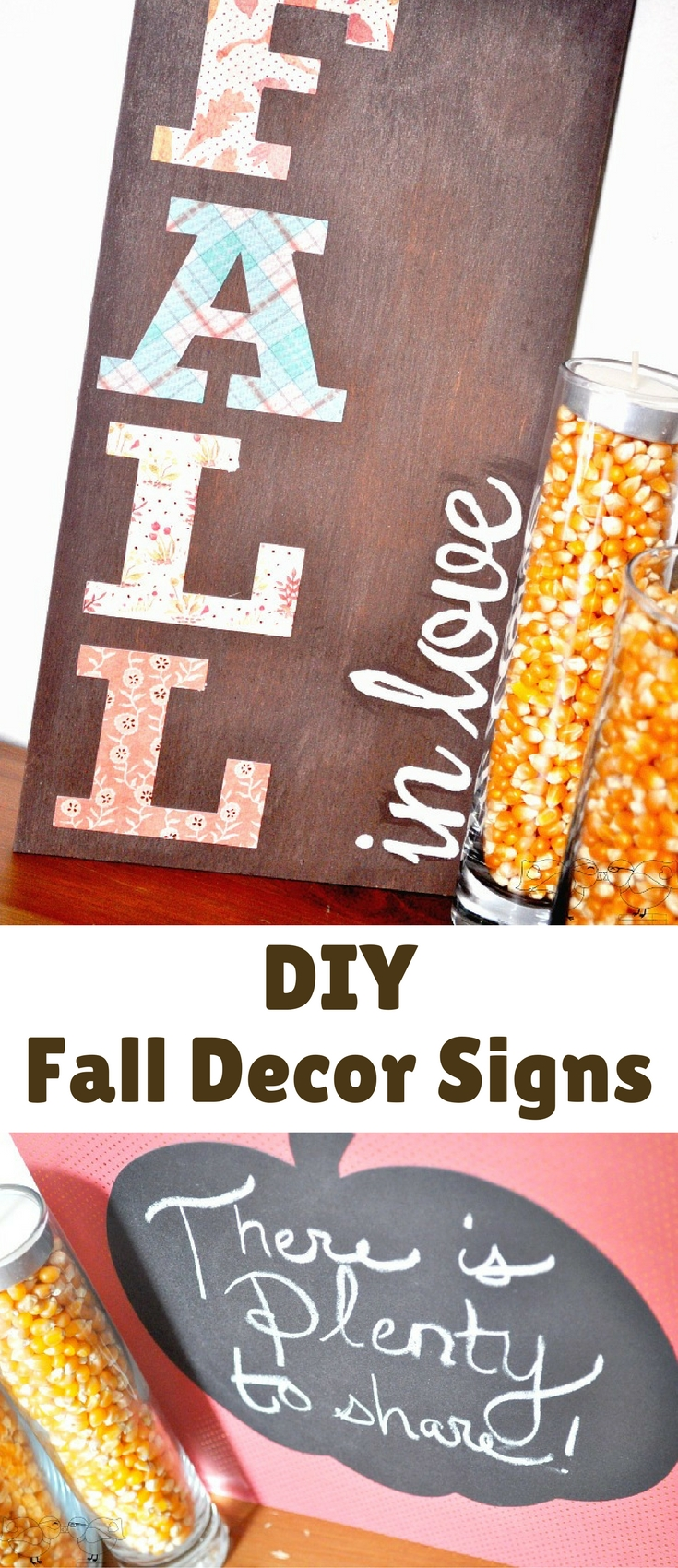 Diy Fall Decor Signs Blogger Bests