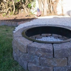 DIY Fire Pit for Instant Backyard Appeal