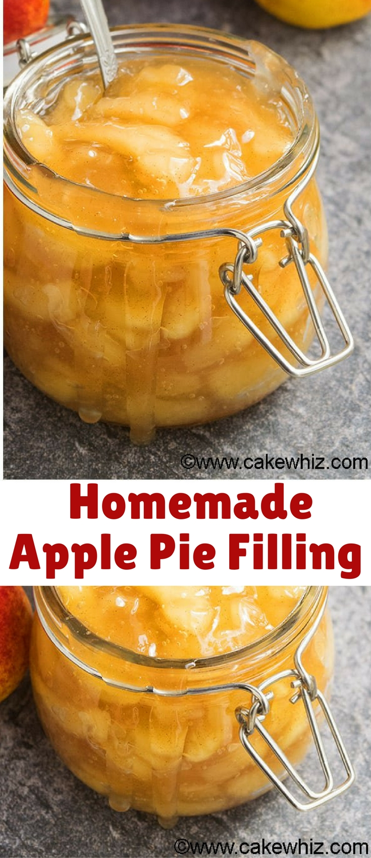 Learn how to make quick and easy homemade apple pie filling from scratch on the stovetop. Made with simple ingredients and ready in just 30 minutes.