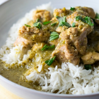 Instant Pot Thai Green Chicken Curry