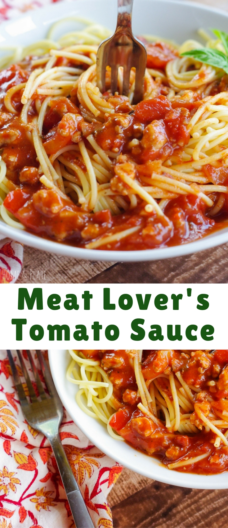 Never buy tomato sauce in a jar again! Tomato sauce made from scratch takes 30 minutes to make and tastes a million times better than the jarred variety.