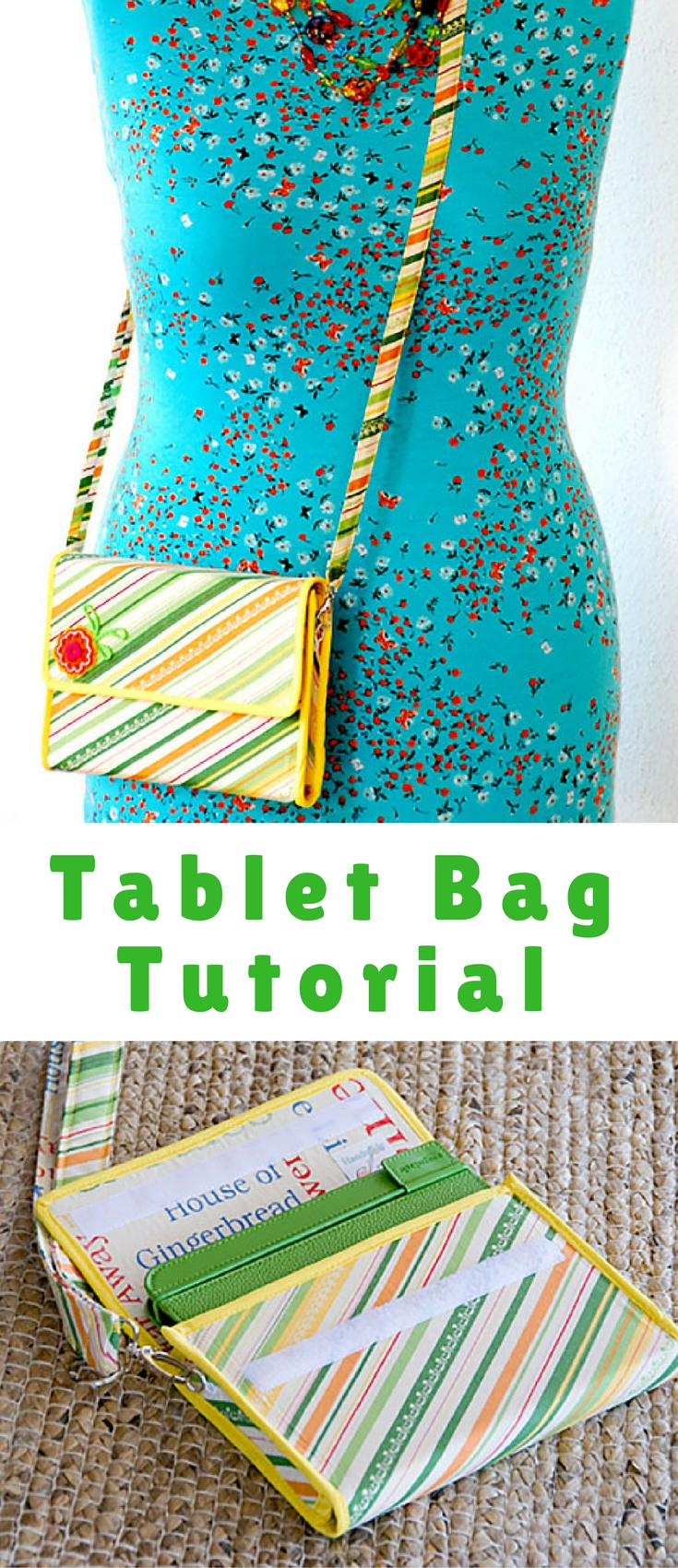 Here's how I made a Tablet Bag, with instructions, as well as a way to adapt it to different gadgets, like an iPad, or laptop.