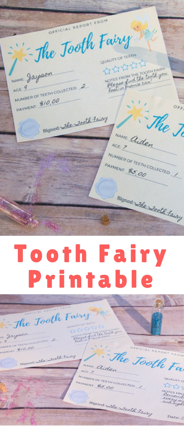 I never turn down the chance to entice the kids with the possibility of magic – and the Tooth Fairy is a personal favorite because she has no season. The Tooth Fairy can make her grand appearance at any time, all you need is an extra wiggly tooth.