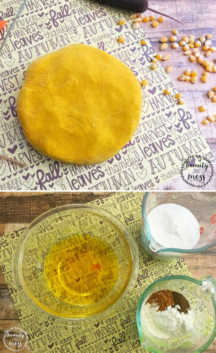 My kids love getting creative with play dough. But play dough that smells like fall? That's a sensory experience that can't be beat.
