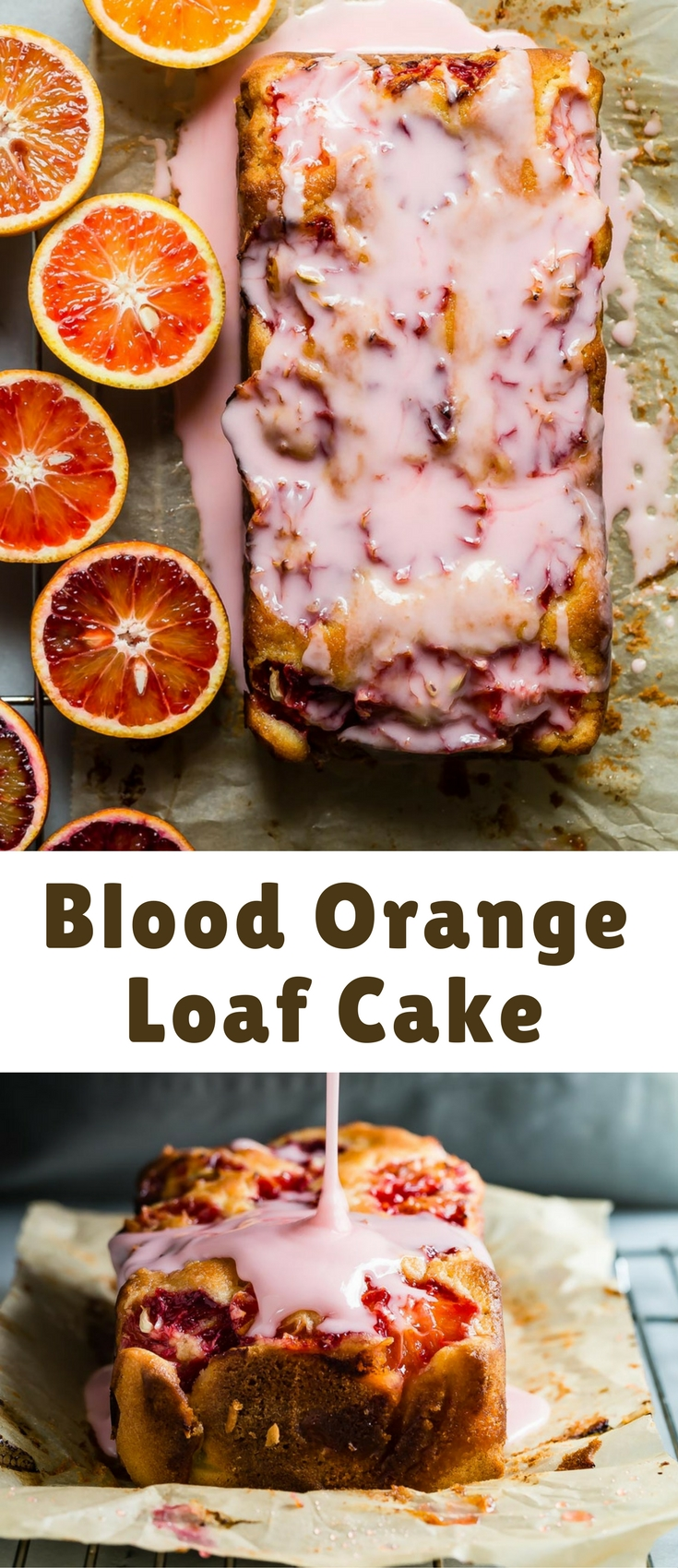 Orange Loaf Cake With Icing