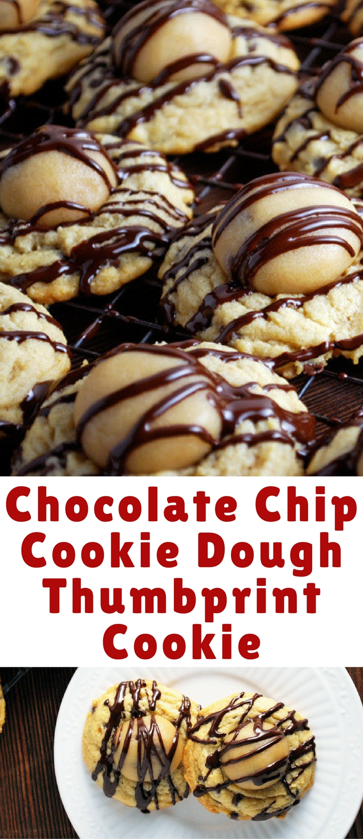 You won't be able to decide what you like better, the soft, chewy chocolate chip cookie or the rich cookie dough center.