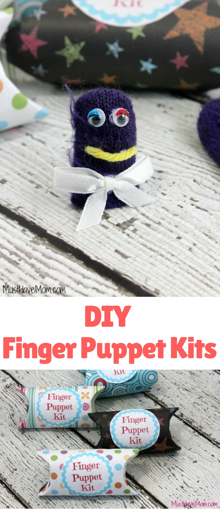 I made these adorable DIY Finger Puppet Kits with the kids this week and they were a HUGE hit! They were so much fun, even I enjoyed making these cute little finger puppets.