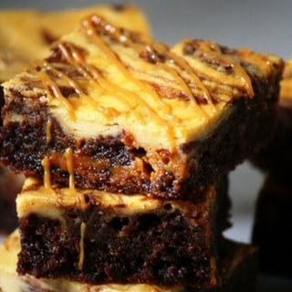 Dulce de Leche Cheesecake Brownies