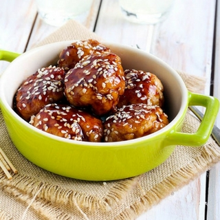 Family Friendly Teriyaki Chicken Meatballs